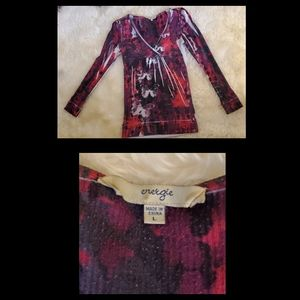 Energie Tops - Long sleeve butterfly shirt
